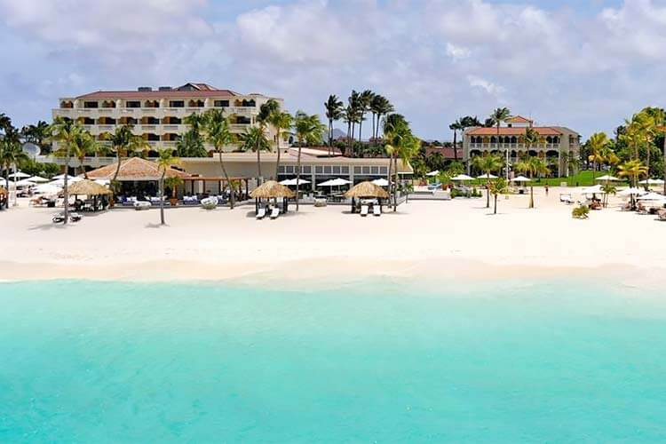 Divi Aruba All Inclusive direct aan het strand