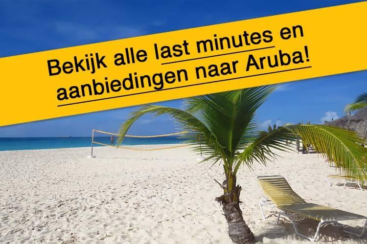 Last minutes en aanbiedingen Aruba