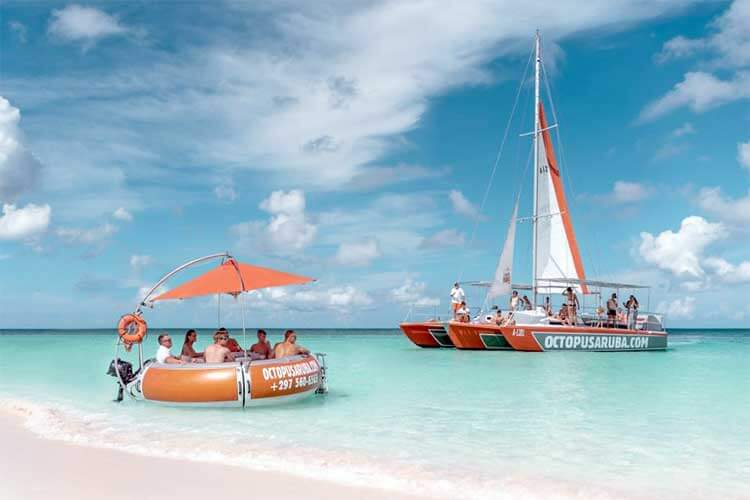 Catamaran Snorkel Sail Aruba