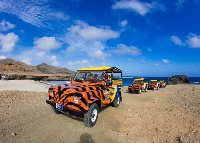 Jeepsafari op Aruba met Guide and Go