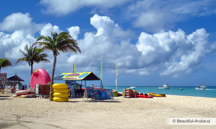Watersporten Palm Beach Aruba