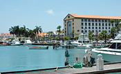 Haven in Oranjestad, Aruba